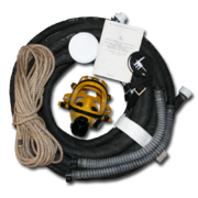 Противогаз шланговый Бриз-0301 ПШ-1C маска ШМП шланг ПВХ АМС